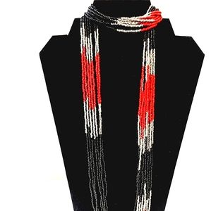♠️+ NEW! MIXIT Red jet Fashion Necklace